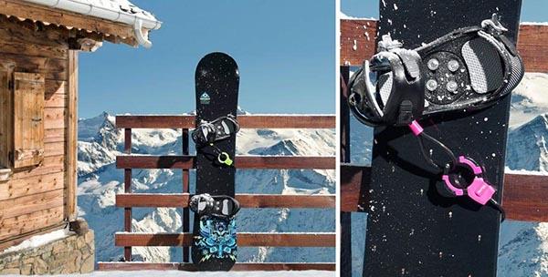 Le câble menotte Master Lock pour sécuriser vos skis