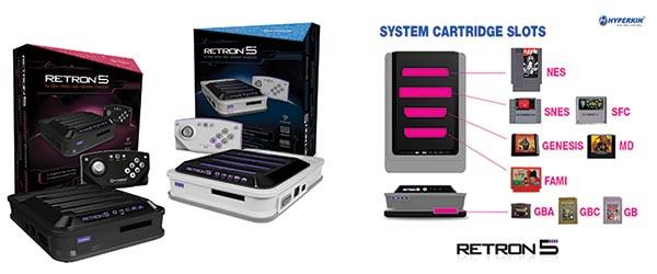 Retron 5, la console rétro d'E-Concept sortira le 12 décembre prochain
