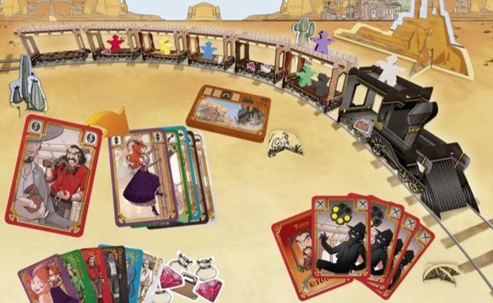 Les jeux de société : Colt Express