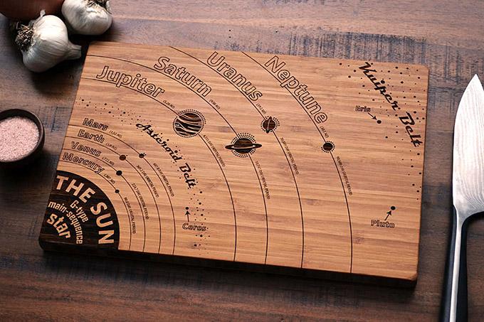 Solar-System-Cutting-Board