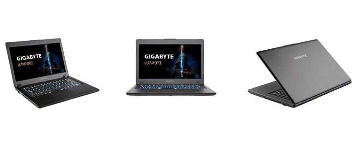 "L'ordinateur portable gaming 14"" P34W de GIGABYTE arrive en France"