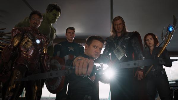 The Avengers Deux republi