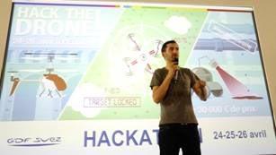 Premier hackathon sur les drones organisé par ENGIE (GDF Suez) à l'Ecole 42