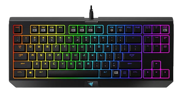 La version Chroma du Razer BlackWidow Tournament est disponible