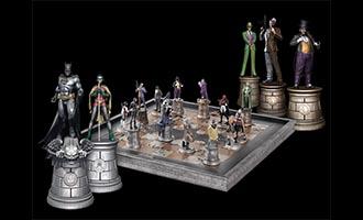 Un jeu d'échecs avec vos super-héros DC et Marvel préférés