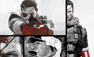 L'exposition 'Metal Gear Solid : The 80's Fanart Experience'