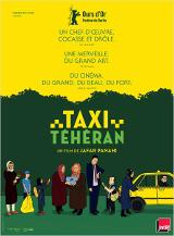 Taxi Téhéran Affiche