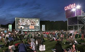 Le Cinéma en Plein Air sur la Prairie du Triangle à La Villette