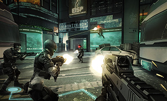 Ghost in the Shell: Stand Alone Complex – First Assault Online