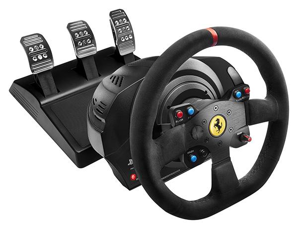 Thrustmaster annonce le T300 Ferrari Integral Racing Wheel Alcantara Edition