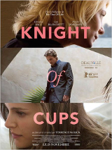 Knight of cups Affiche