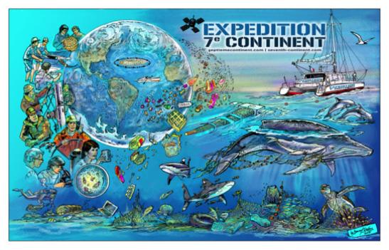 Soutenez la bande dessinée Expédition 7e Continent sur Ulule !