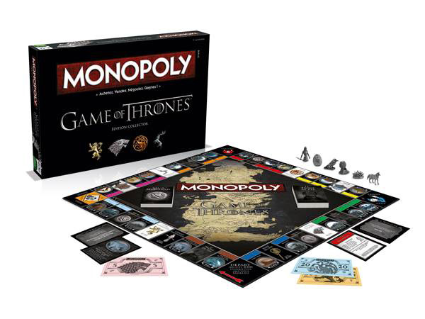 HBO Global Licensing et Winning Moves lancent un Monopoly Game of Thrones