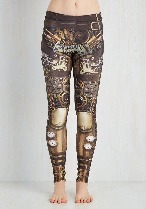 legging steampunk 1