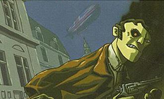 Viktoria 91 de Pierre Pevel sorti en 2002 aux éditions Imaginaires Sans Frontieres