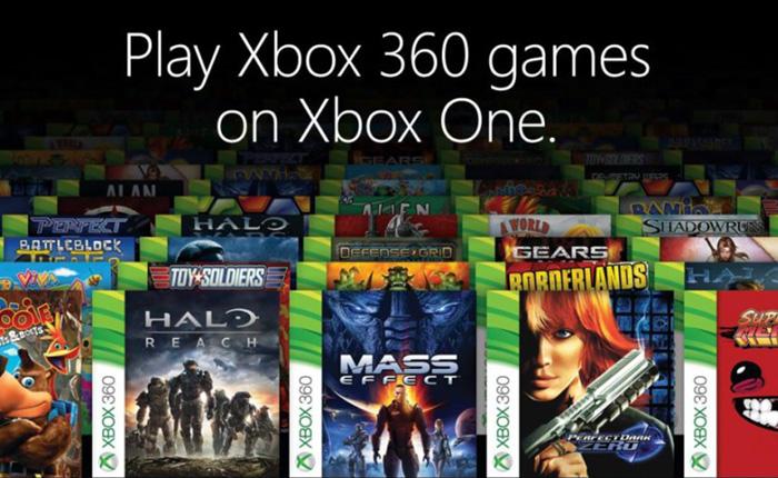 Xbox One : La rétrocompatibilité Xbox 360 débarque !
