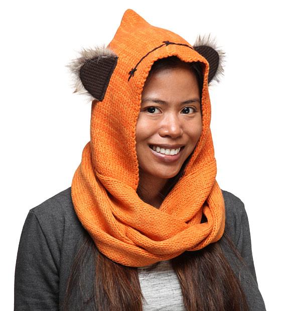 Star-Wars-Ewok-Knit-Hooded-Scarf