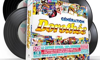 Le coffret collector 'Génération Dorothée'