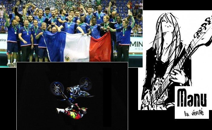 La Sélection 2015 du Bourbon Kid : Exploits sportifs (handball, volleyball, Tom Pages...) et musique Rock avec Manu