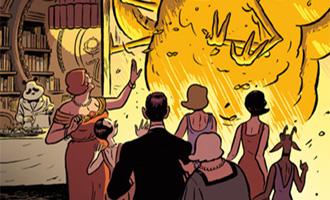 L'Extravagante Croisière de Lady Rozenbilt de Pierre Gabus et Romuald Reutimann chez Les Humanos