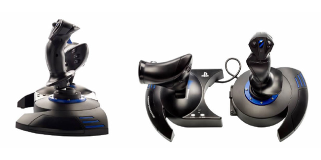 Thrustmaster présente le 1er joystick officiel Playstation 4 et son starter pack War Thunder
