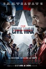 Civil War Affiche