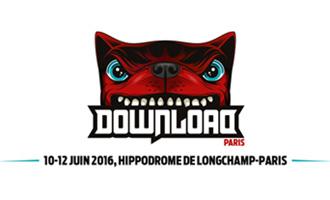 Le Download Festival les 10, 11 et 12 juin 2016 à l'Hippodrome de Longchamp à Paris