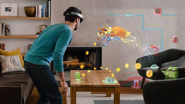 Fragments et Young Conker, les jeux vidéo holographiques sur HoloLens d'Asobo Studio