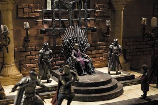 Games of Thrones s'offre une nouvelle gamme de figurines et de kits de construction