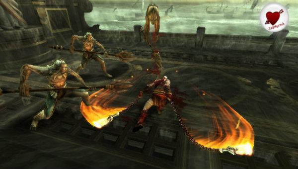 God of War Ghost of Sparta Coeur