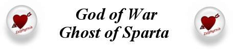 God of war Ghost of sparta titre