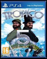 Tropico 5 PS4 Jaquette