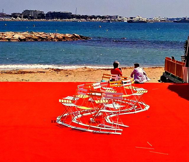 Instantané de Cannes : Un dimanche sous le soleil, exactement !