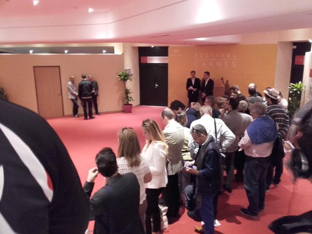 Instantané de Cannes : Quand la presse se presse en salle de presse