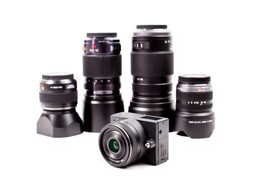 E1 by ZCAM, Mini caméra 4K Ultra HD à objectif interchangeable