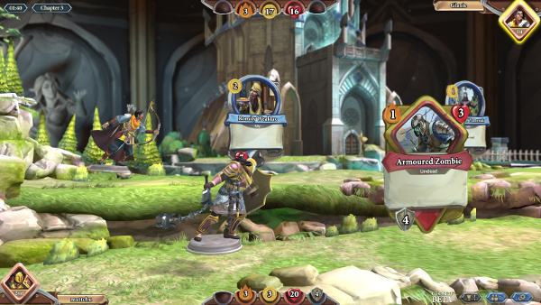 Chronicle-RuneScape-Legends-raptor-attacking-zombie