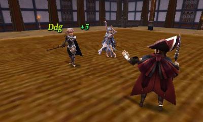 Fire Emblem Héritage Combat