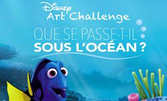 Disney Art Challenge 2016