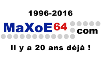 Retour vers MaXoE64