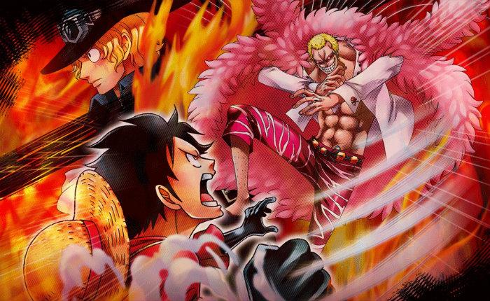 One Piece Burning Blood en tête