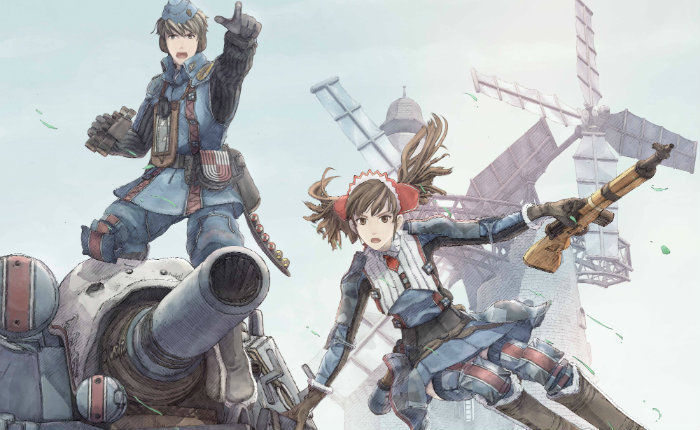 Valkyria Chronicles Remastered en-tête