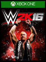 WWE 2K16 jaquette one