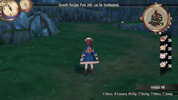 Atelier Sophie The Alchemist of the Mysterious Book 01
