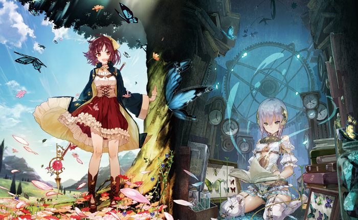 Atelier Sophie The Alchemist of the Mysterious Book en tête