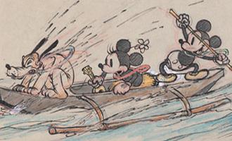 Exposition 'L'Art des Studios d'Animation Walt Disney' au Musée Art Ludique