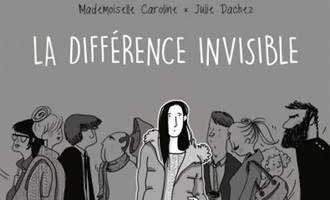La différence invisible de Julie Dachez et Mademoiselle Caroline chez Delcourt