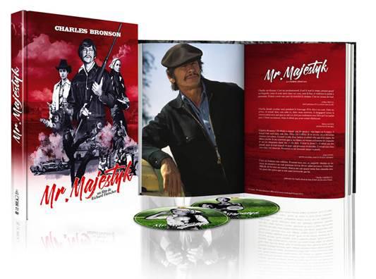 Mr. Majestyk de Richard Fleischer avec Charles Bronson en édition Blu-ray+DVD+Livret