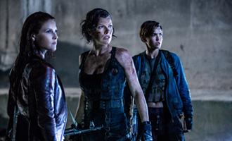 Resident Evil : Chapitre Final avec Milla Jovovich et Ali Larter