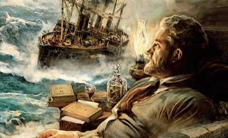 Jules Verne et l'astrolabe d'Uranie Tome 1 d'Esther Gil et Carlos Puerta chez Ankama