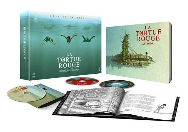 La tortue rouge le 30 novembre en DVD, Blu-ray et Edition Prestige